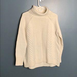 American Eagle cream sweater